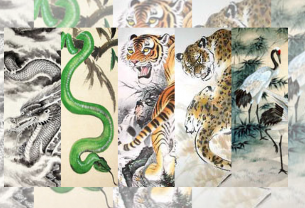 The 5 Animals Of Kung Fu
